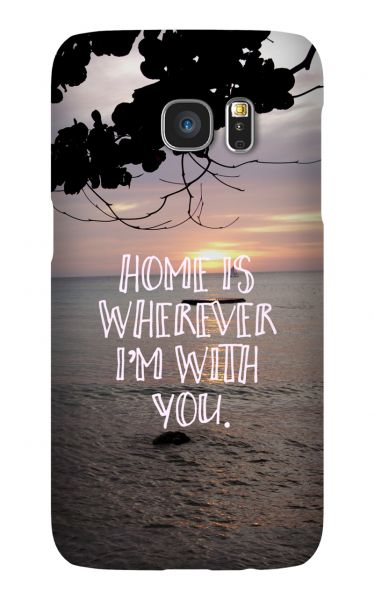 Samsung Galaxy S7 3D-Case (glossy) Gibilicious Design Home is von swook! - switch your look