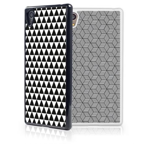 Sony Xperia Z5 2D-Case (schwarz) selbst gestalten mit swook! - switch your look