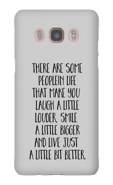 Samsung Galaxy J5 (2016) 3D-Case (glossy) Gibilicious Design There are some people von swook! - switch your look