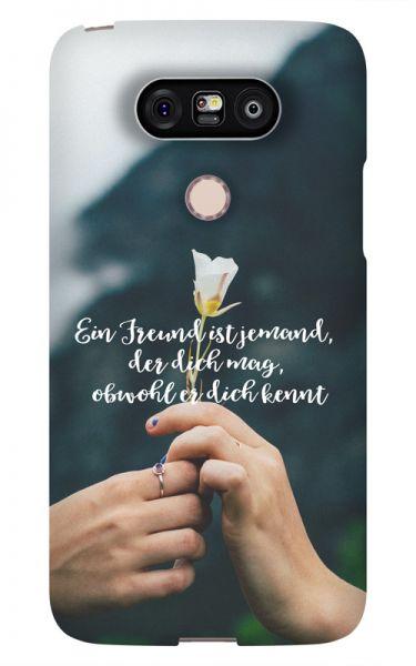 LG G5 3D-Case (glossy) Gibilicious Design Ein Freund ist jemand von swook! - switch your look