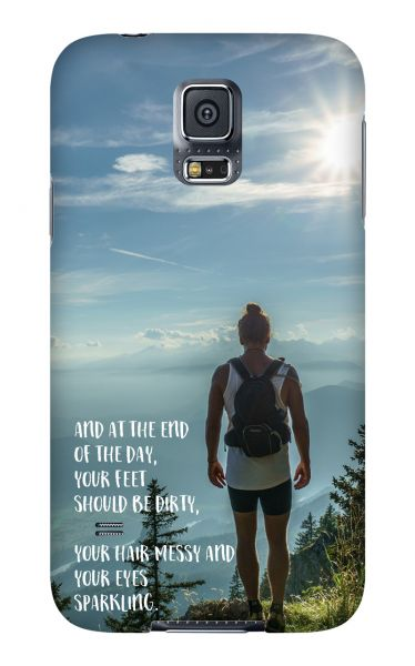 Samsung Galaxy S5 3D-Case (glossy) Gibilicious Design At the end of the day von swook! - switch your look
