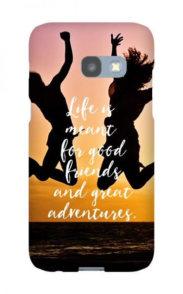 Samsung Galaxy A3 (2017) 3D-Case (glossy) Gibilicious Design Life is meant for von swook! - switch your look
