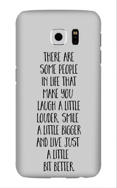 Samsung Galaxy S6 3D-Case (glossy) Gibilicious Design There are some people von swook! - switch your look