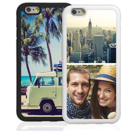 Bumper-Case (weiß) passend für Apple iPhone 6/6s, Selbst gestalten