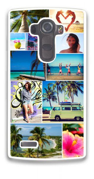 2D-Case (weiß) passend für LG G4, Selbst gestalten