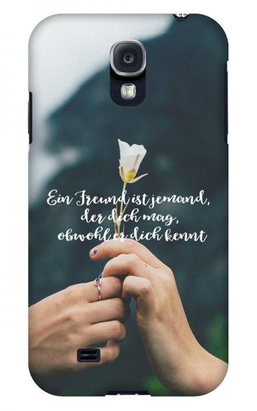 Samsung Galaxy S4 3D-Case (glossy) Gibilicious Design Ein Freund ist jemand von swook! - switch your look