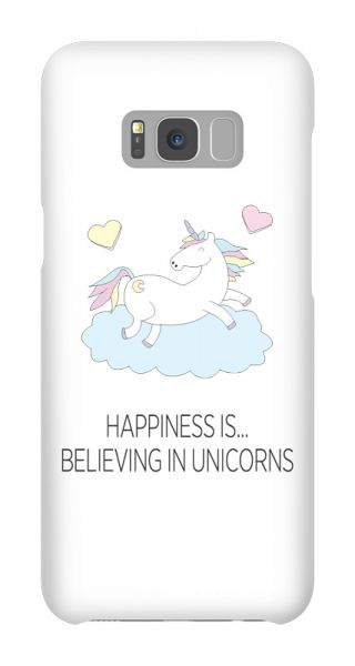 Samsung Galaxy S8 Plus 3D-Case (glossy) Gibilicious Design Happiness is…believing in unicorn von swook! - switch your look