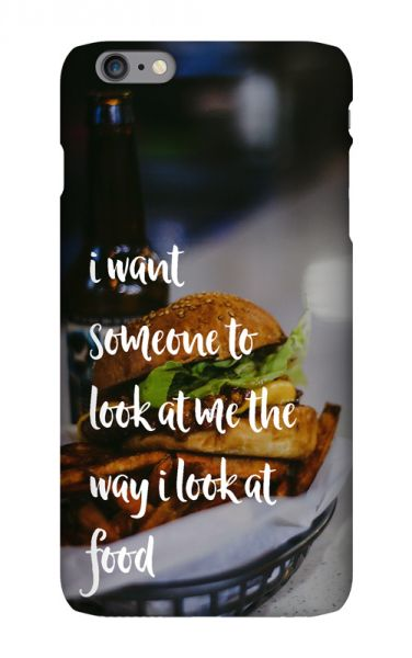 Apple iPhone 6 Plus 3D-Case (glossy) Gibilicious Design The way I look at food von swook! - switch your look