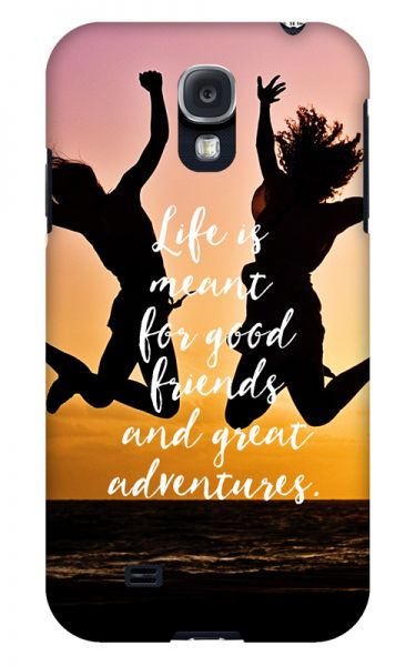 Samsung Galaxy S4 3D-Case (glossy) Gibilicious Design Life is meant for von swook! - switch your look