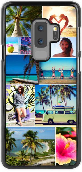 2D-Case (schwarz) passend für Samsung Galaxy S9 plus, Selbst gestalten