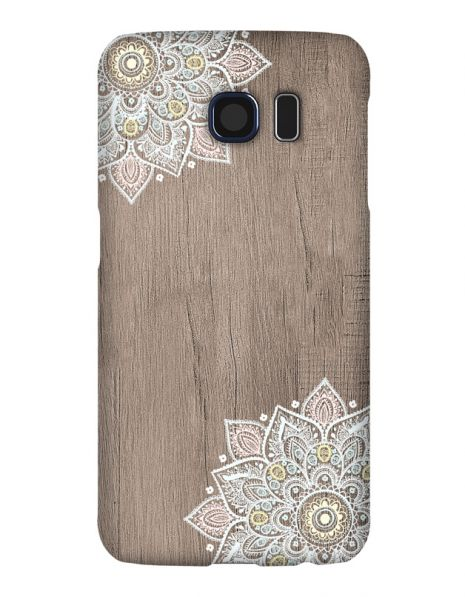 Samsung Galaxy S6 3D-Case (glossy) Gibilicious Design Mandala on wook von swook! - switch your look