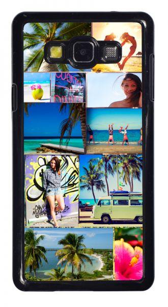 Samsung Galaxy A7 2D-Case (schwarz) selbst gestalten mit swook! - switch your look
