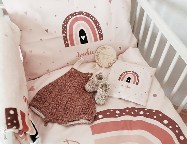 Personalisierte Bettwäsche als Geschenk