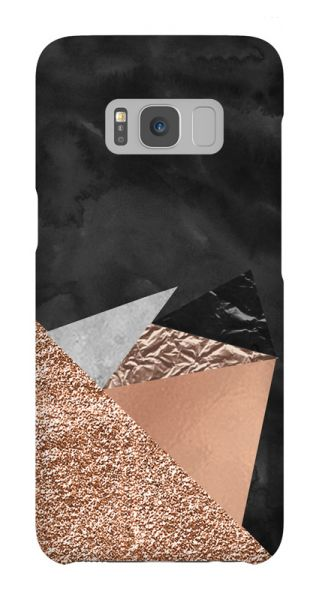 Samsung Galaxy S8  3D-Case (glossy) Gibilicious Design Rose triangles von swook! - switch your look