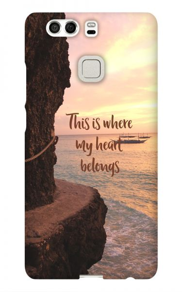 Huawei P9 3D-Case (glossy) Gibilicious Design Where my heart belongs von swook! - switch your look