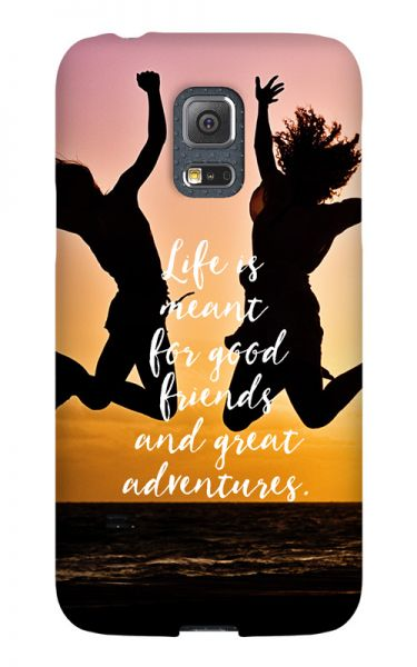 Samsung Galaxy S5 Mini 3D-Case (glossy) Gibilicious Design Life is meant for von swook! - switch your look