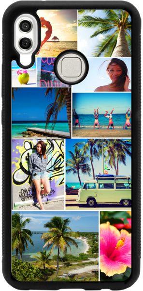 Bumper-Case (schwarz) passend für Huawei P20 lite, Selbst gestalten-Copy