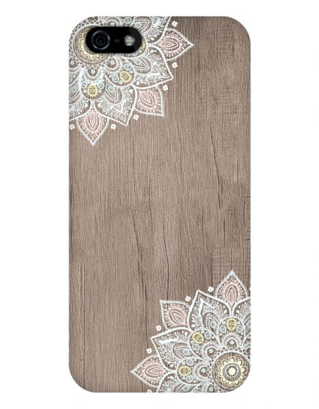 Apple iPhone 5/5S/SE 3D-Case (glossy) Gibilicious Design Mandala on wook von swook! - switch your look