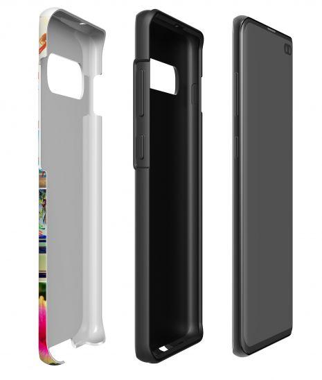 Tough-Case (glossy) passend für Samsung Galaxy S10 Plus, Selbst gestalten