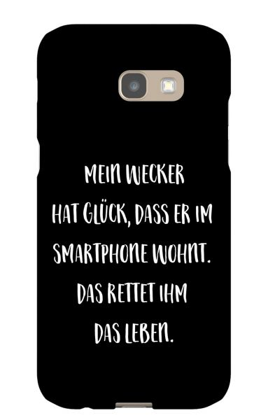 Samsung Galaxy A5 (2017) 3D-Case (glossy) Gibilicious Design Mein Wecker hat Glueck von swook! - switch your look