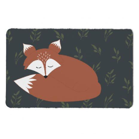 Fuchs schlafend - Kinderteppich