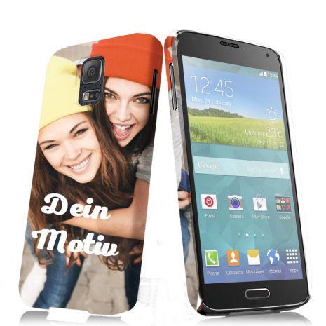 3D-Case (glossy) passend für Samsung Galaxy S5 Mini, Selbst gestalten