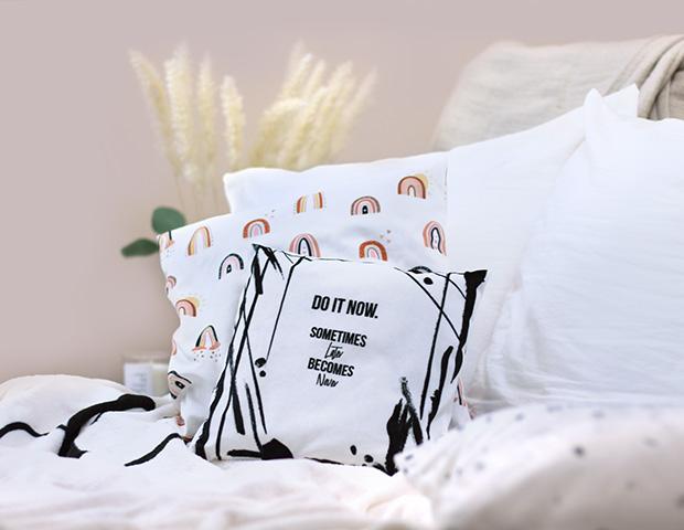 Personalisierte Kissen als Valentinstagsgeschenk