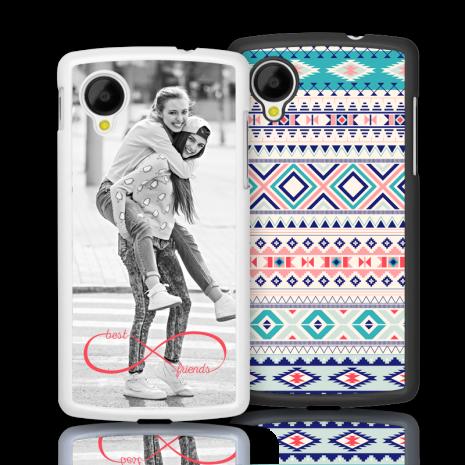 2D-Case (weiß) passend für Google Nexus 5, Selbst gestalten