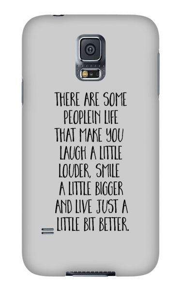 Samsung Galaxy S5 3D-Case (glossy) Gibilicious Design There are some people von swook! - switch your look