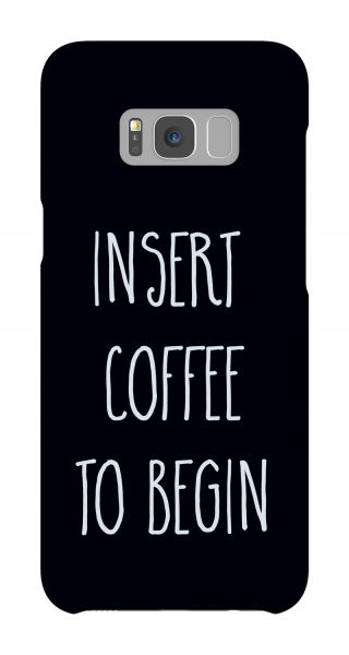 Samsung Galaxy S8 Plus 3D-Case (glossy) Gibilicious Design Insert coffee to begin von swook! - switch your look
