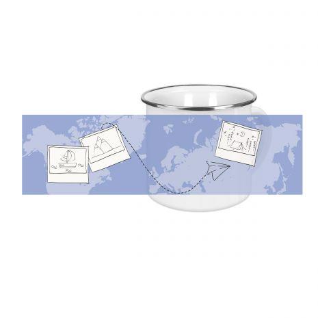 Travel - Emaille-Tasse (300 ml)