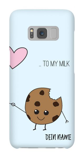 Samsung Galaxy S8  3D-Case (glossy) Gibilicious Design BFF - … to my milk von swook! - switch your look