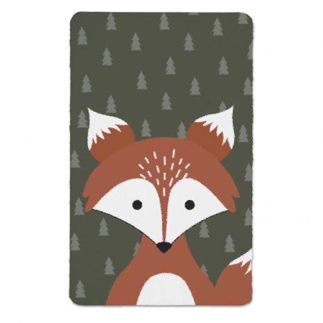 Fuchs in the woods - Kinderteppich