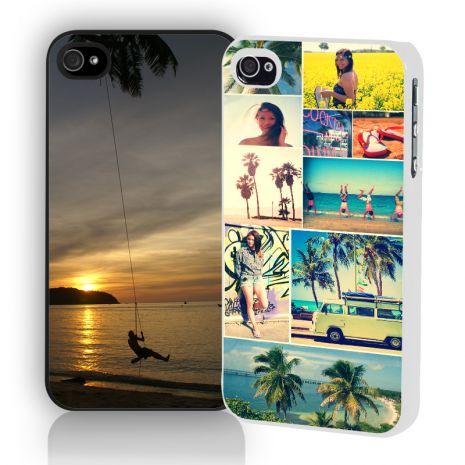 Apple iPhone 4/4s 2D-Case (weiß) selbst gestalten mit swook! switch your look!