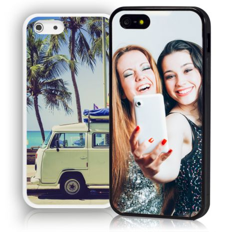 Apple iPhone 5C Bumper-Case (weiß) selbst gestalten mit swook! switch your look
