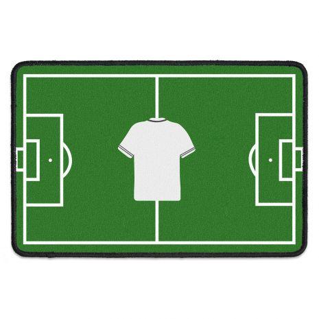 Fussmatte personalisiert - Fußball