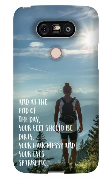 LG G5 3D-Case (glossy) Gibilicious Design At the end of the day von swook! - switch your look