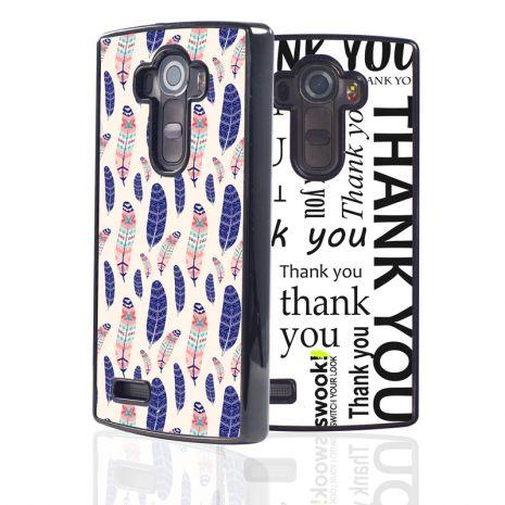 LG G4 2D-Case (schwarz) selbst gestalten mit swook! - switch your look