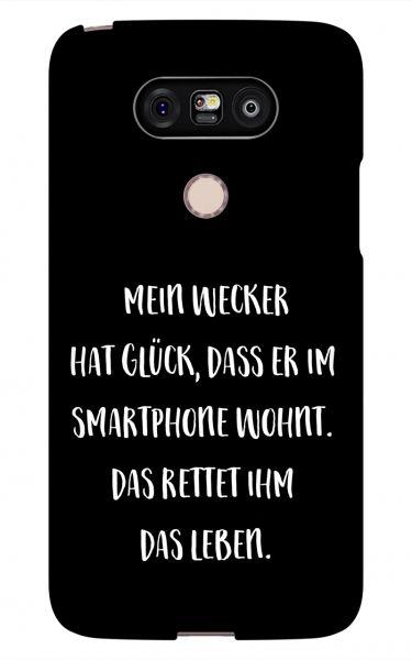 LG G5 3D-Case (glossy) Gibilicious Design Mein Wecker hat Glueck von swook! - switch your look