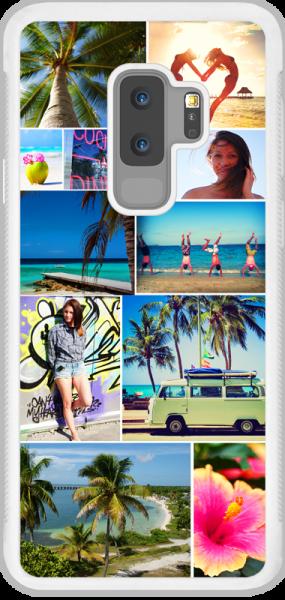 Samsung S9 Plus 2D weiss selbstgstalten- bei swook