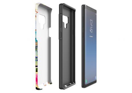 Tough-Case (glossy) passend für Samsung Galaxy Note 9, Selbst gestalten