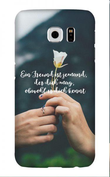 Samsung Galaxy S6 3D-Case (glossy) Gibilicious Design Ein Freund ist jemand von swook! - switch your look