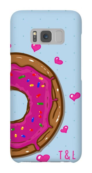 Samsung Galaxy S8  3D-Case (glossy) Gibilicious Design Donut links von swook! - switch your look