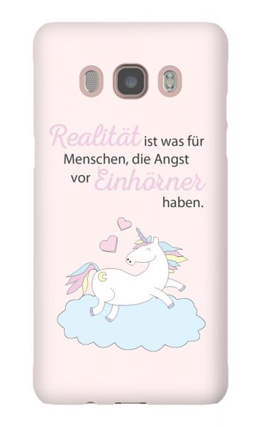 Samsung Galaxy J5 (2016) 3D-Case (glossy) A world with unicorns von swook! - switch your look