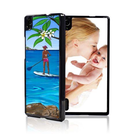 Huawei P7 2D-Case (schwarz) selbst gestalten mit swook! - switch your look