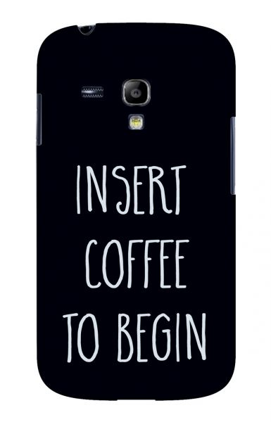 Samsung S3 Mini (i8190) 3D-Case (glossy) Gibilicious Design Insert coffee to begin von swook! - switch your look