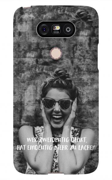 LG G5 3D-Case (glossy) Gibilicious Design Wer zweideutig denkt von swook! - switch your look