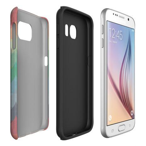 Tough-Case (glossy) passend für Samsung Galaxy S6, Selbst gestalten