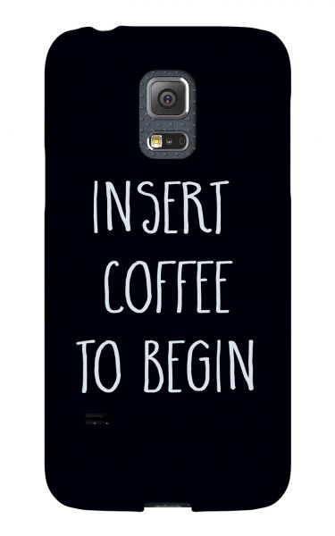 Samsung Galaxy S5 Mini 3D-Case (glossy) Gibilicious Design Insert coffee to begin von swook! - switch your look