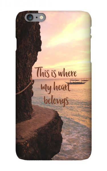 Apple iPhone 6s Plus 3D-Case (glossy) Gibilicious Design Where my heart belongs von swook! - switch your look